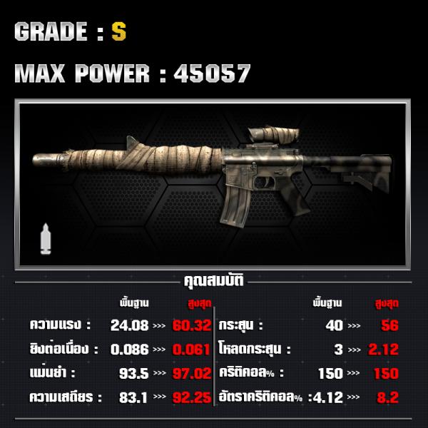 M4A1 SE P-01-TH